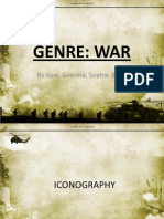 War Genre Code and Conventions