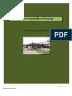 Disaster Preparedness Planning