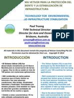 Presentación de Sistema Vetiver a cargo de Dr Paul Truong Buenos Aires 2014