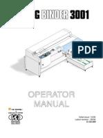 GB Operator Manual BB3001