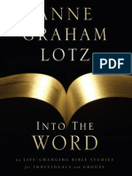 Into the Word by Anne Graham Lotz, Excerpt