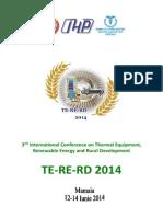 Proceedings TERERD 2014