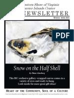 Winter 2014-15 Newsletter