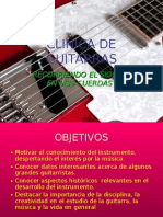 CLINICA DE GUITARRAS