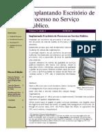 Artigo - Implantando Escritorio de Processos - Hebert O. Silva
