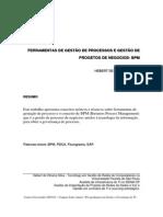 Artigo - Ferramentas de Gestão Processos - Hebert O Silva