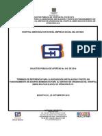 Terminos de Referencia 2014i010
