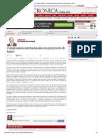 11-11-14 Compromisos Internacionales Con Proyección de Futuro