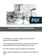 13 Historia de Las Bicicletas y Motocicletas