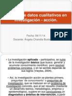 Análisis de Datos Cualitativos en Investigación - Acción