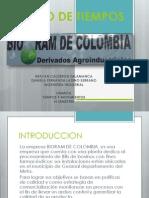 Estudio de Tiempos Bioram de Colombia
