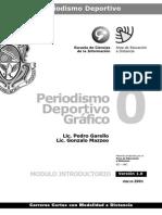 Periodismo Deportivo Grafico - Modulo 0