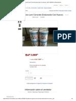 Adhesivo Epoxico (Unir Concreto Endurecido Con Nuevo) - BsF 5