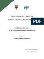 Memoria Programación web UCO - 2014