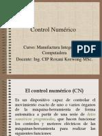 Control Numérico I - 2014