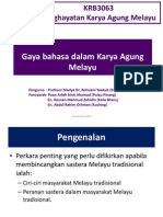 Kuliah 3 - Gaya Bahasa