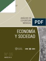 ECONOMIA Y SOCIEDAD - N 6 - MARZO 2013 - PARAGUAY - PORTALGUARANI