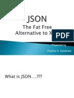 Json the Fatfree Alternative to Xml4594