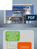 Condensador de Contacto Directo