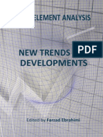 Finite Element Analysis New Trends i to 12