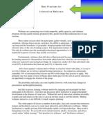 Webinar Planning Advice