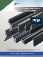 Wilson Tool - catalog scule abkant stil Amada promecam / Eurostyle