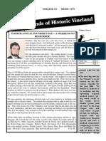 1999 Summer Newsletter