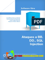 Ataques a Bases de Datos SQL Injection