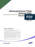 Exynos 5 Dual User Manaul Public REV1.00-0