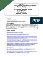 MPRWA Agenda Packet 11-13-14