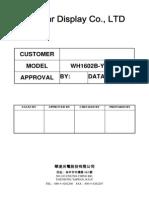 Winstar Display Datasheet