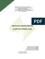 Planta de Turbina a GAS Pract.02