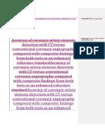 EBM Desta - Diagnosis Coronary Artery Stenosis 13.12.2013 (1)