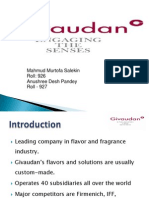Givaudan Strategy