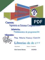 Libreerias de c++