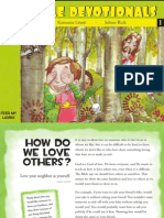 Five Minute Bible Devotionals - Love