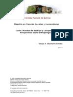 Clase 4 El Mundo Rural y El Mundo Urbano-campesinos y Obreros SACHS-2014