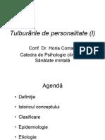 Boli ICD 10Curs 4 Tulburarile de Personalitate 1
