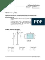 ACI 318-11 Example 002