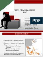 Asian Crisis 1997 Group5