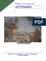 Notiziario 247 - Frati Minori di Lombardia