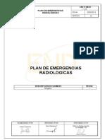 END-P-SM-01 Plan de Emergencias Radiológicas