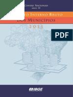 PIB MUNICIPIOS (2011) 17-12-2013