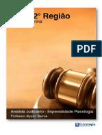 Conhecimentos Especificos p Trtsc Analista Judiciario Especialidade Psicologia Aula 00 Psicologia Trt 12 Regiao Alyson Barros Aula 0 Revisada 26640