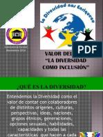 Ppt La Diversidad en La Inclusión