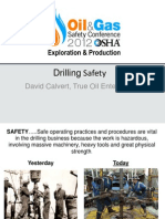 Drilling Safety
