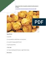 Gouda or Gruyere Gougere Recipe