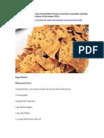 Marinated Feta on Zaatar Pasta Roller Cracker Recipe