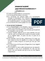 SE PURIFIER DES NAJÀSÀT RÉELLES ET MATÉRIELLES 2ième