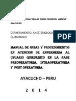 Guias de Procedimientos Qx. 2014